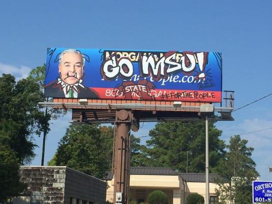 Law firm posts spoof MSU graffiti billboard