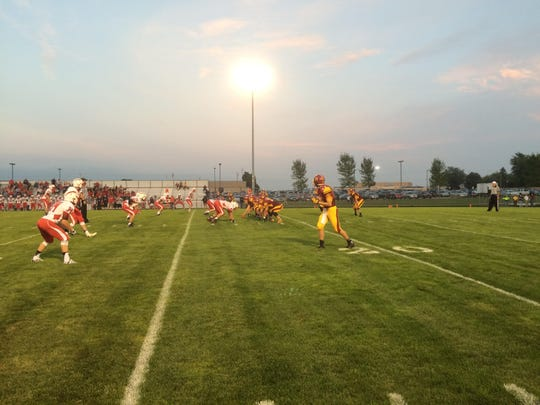 Seymour beat Luxemburg-Casco 19-0 in a nonconference football game Friday.