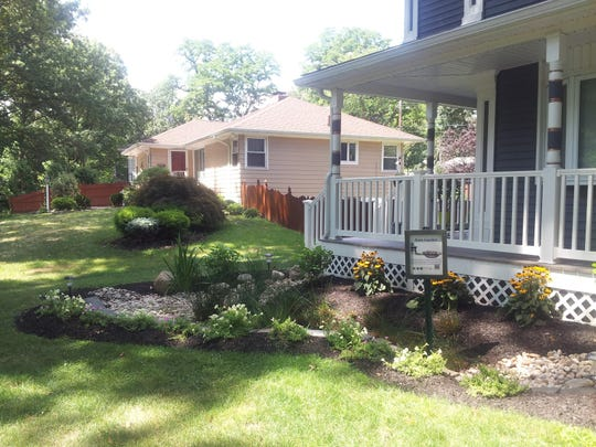 Rain gardens can help reduce rain water runoff and