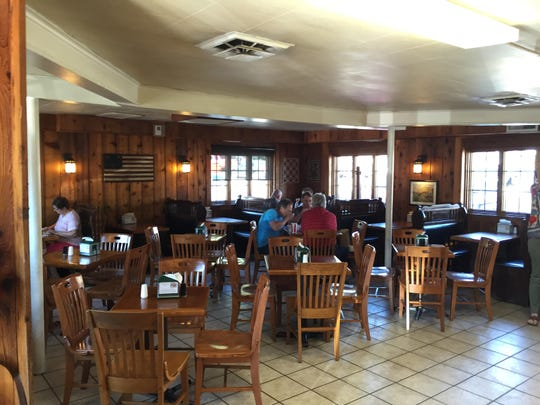 A dining room at Ivanhoe's, seen Sept. 16, 2015 in Upland, Indiana.