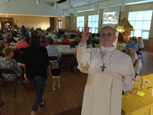 Pope Francis lewes
