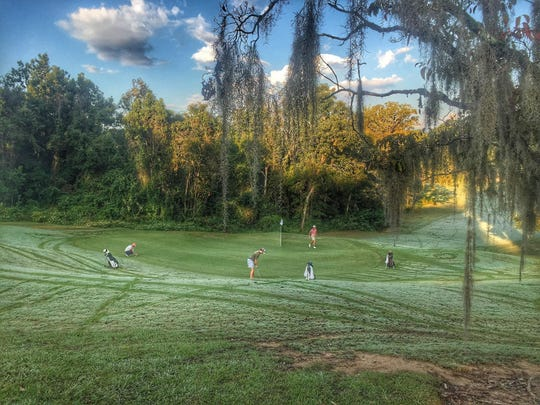 Perfect conditions were the order of the day at Capital City Country Club for Tuesday's District 1-3A tournament.