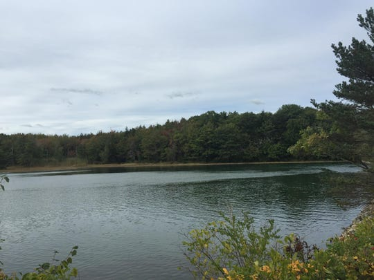 The Kennebunk River in Maine.