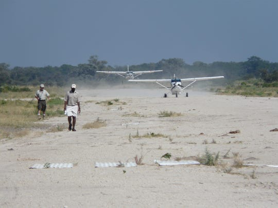 Runways in Africa aren't quite as smooth as those seen in the United States.