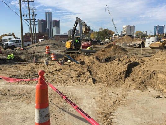 Orleans Landing construction underway