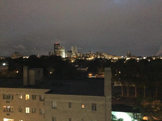 An unrivaled Rochester horizon is visible from the restaurant's roof.