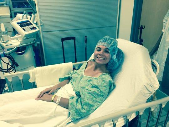 Maclay senior Katie Whitworth underwent surgery on