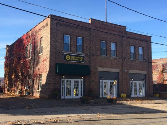 Binghamton Brewing Co. is located in a century-old brick firehouse on Avenue B in Johnson City.