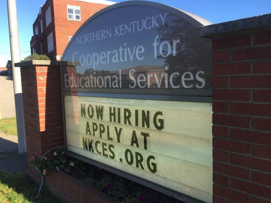 NCES now hiring sign