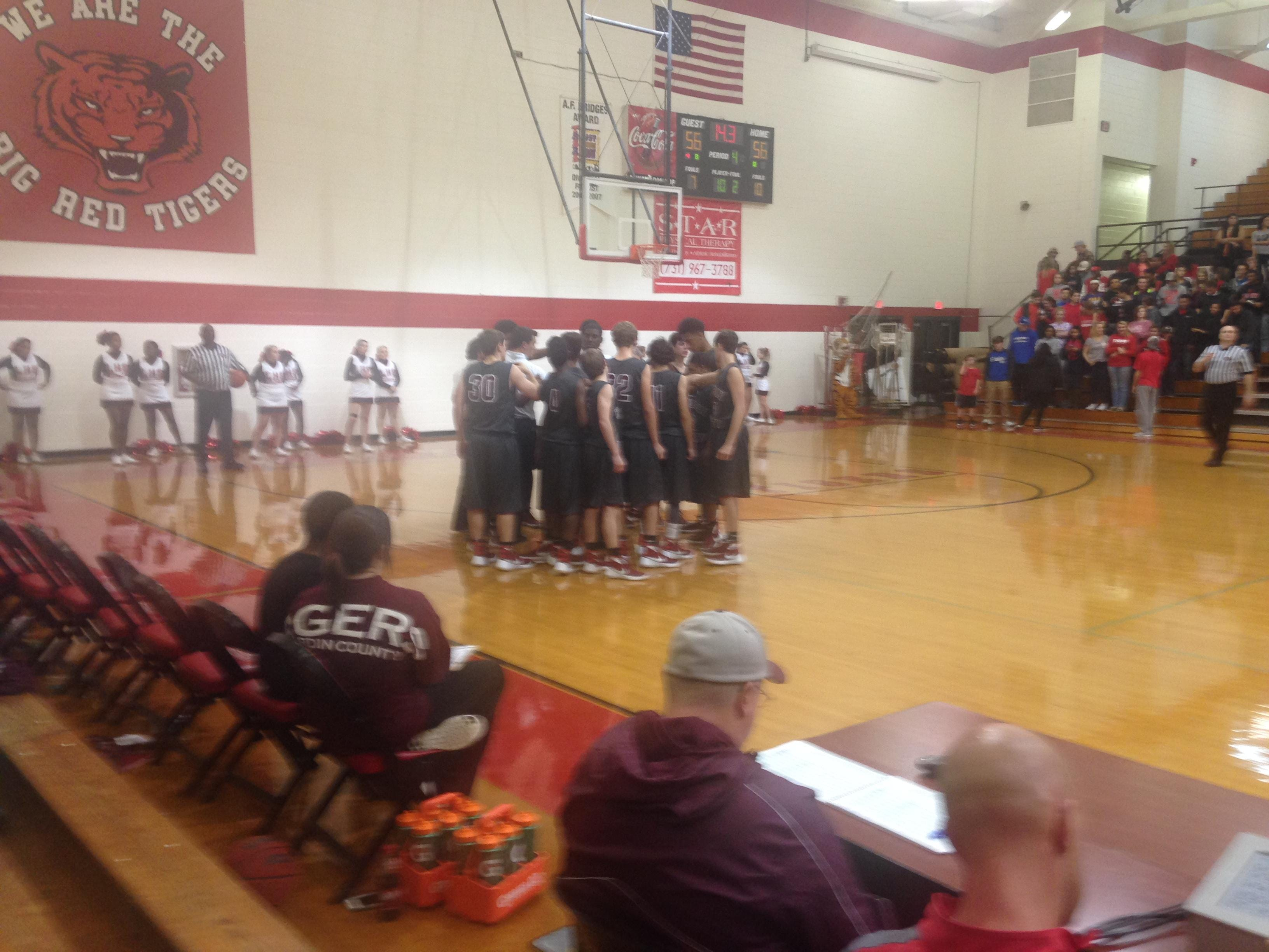 Hardin County's boys rallied from a double-digit deficit to beat Lexington in overtime Monday night.