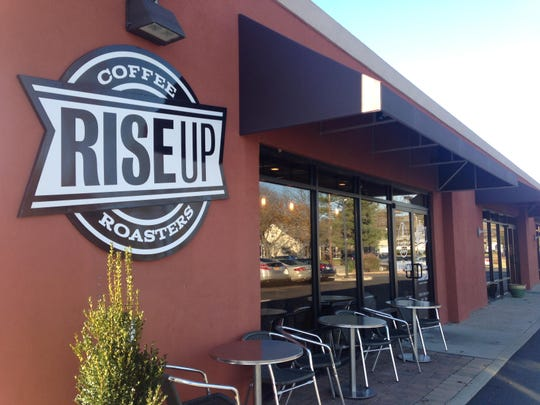 Rise Up Coffee has two locations in Salisbury, the East College Avenue location shown above and its drive-thru location on Riverside Drive. A third is coming to Rehoboth Beach.