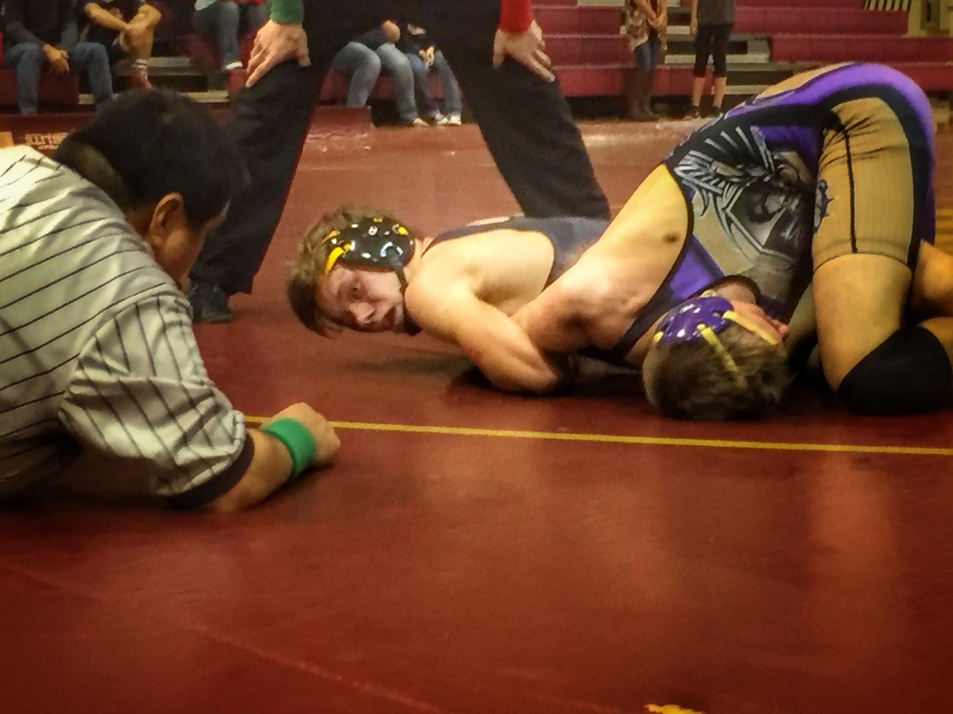 Florida High junior Max Harris, wrestling at 135 pounds, is 1 of 7 returning state qualifiers in a Seminoles program growing fast at the elementary and middle school levels.