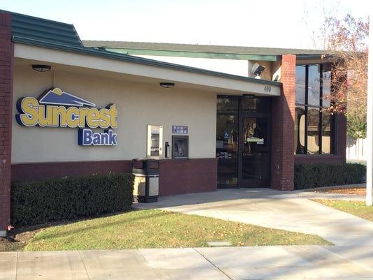 Visalia Based Suncrest Bank Acquires Yuba City Bank