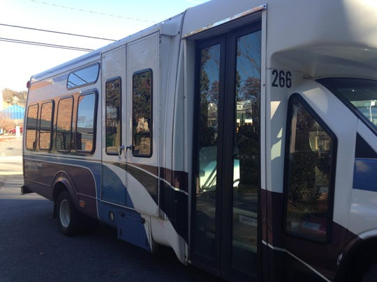 The silver trolley, or in this case bus, I took on Thursday, Dec. 3, 2015.
