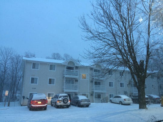 Officers arrived at an apartment complex at 5201 S. Union St. on Sunday to find one person dead and another injured.
