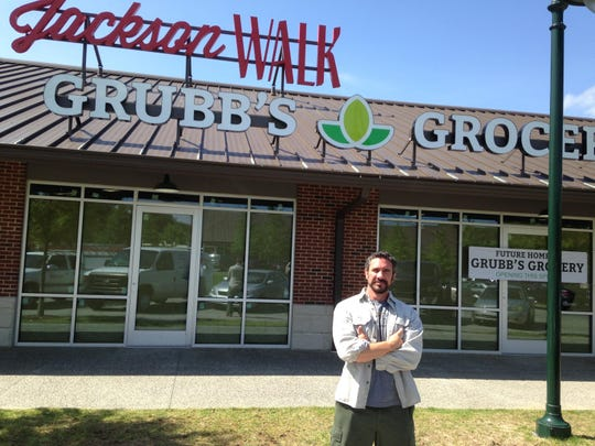 Chris Felder opened Grubb's Grocery in 2015 at Jackson Walk in downtown Jackson.