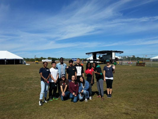 Oakwood airport clean up after