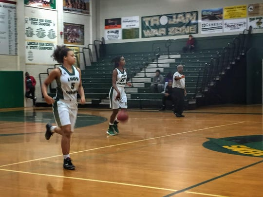 Lincoln sophomore guard Ariel Young (20) scored 10 points with eight rebounds in a 57-29 win over Chiles on Tuesday night. Young has offers from FSU, Florida, Clemson, Miami, Georgia and NC State despite her youth.