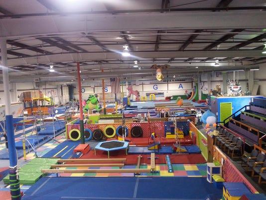 BMN 020416 Gymnastics meet