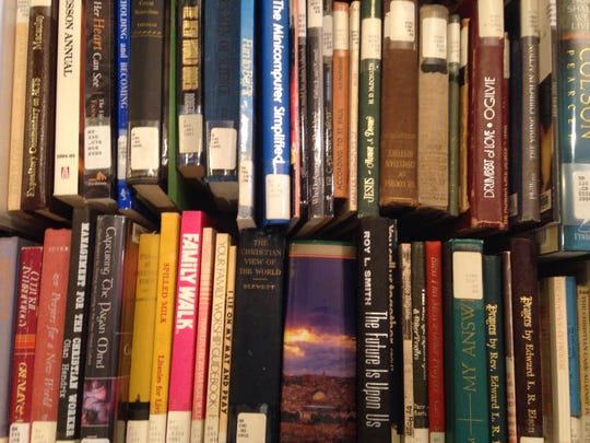 Poetry, novels, history, crimes, mystery, classic literature, cookbooks and homeschool material can be found at the book sale at Union Univeristy.