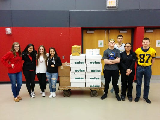 North South FBLA Supply Drive