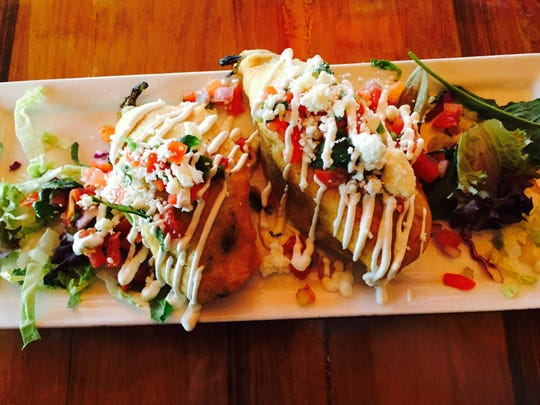 An order of rellenitos at Escondido in Freehold Township