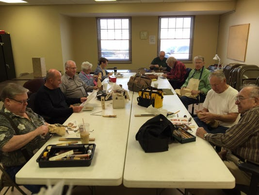 woodcarver group