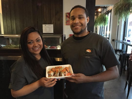 Social Sushi co-founders Grace Montero of Windsor and