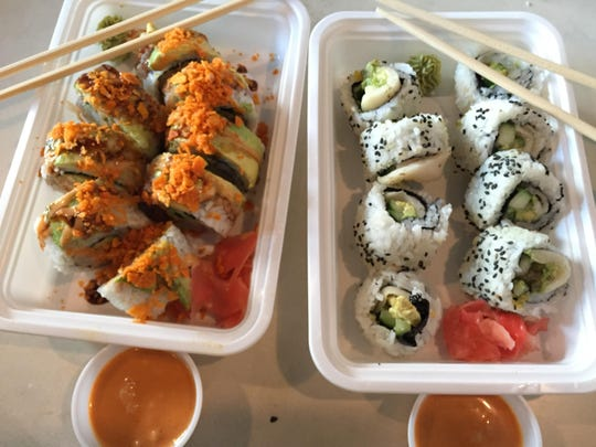 Social Sushi co-founders Jay Rayford and Grace Montero