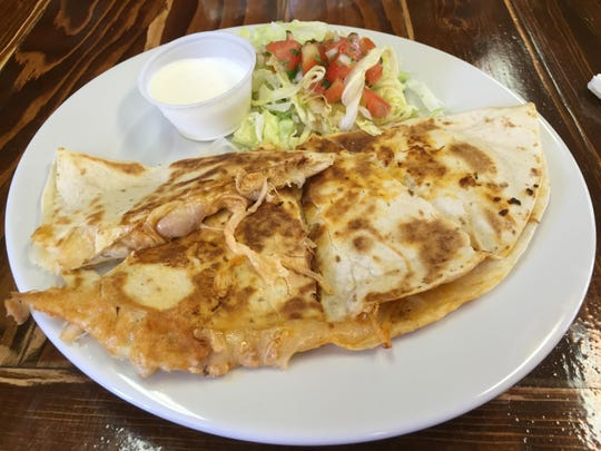 At a lunch at Albita's Mexican Restaurant with some missteps, a chicken quesadilla — thick, cheesy, griddled — stands out for its appeal.