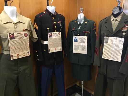 Military Uniform Exhibit
