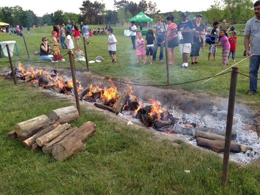 Campfire at Great Farmington Hills Campout