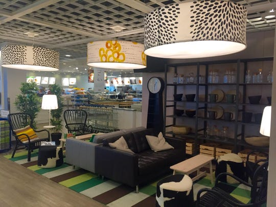 IKEA Canton has added restaurant space that also doubles as a social setting.