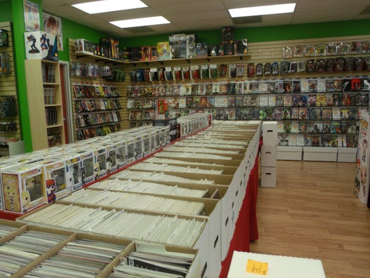"""Rick's Comic City"" on Madison Street offers everything from popular comic books to rare collectibles."