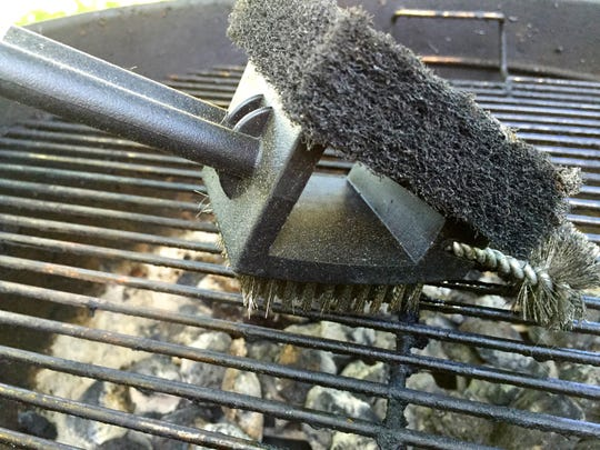 Brush your grill racks after every use.