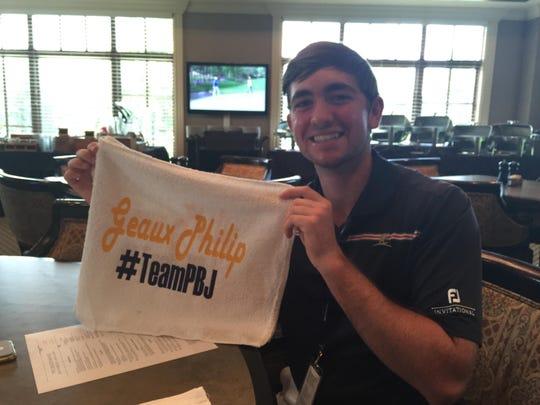 Shreveport company Southern Jewel made rally towels