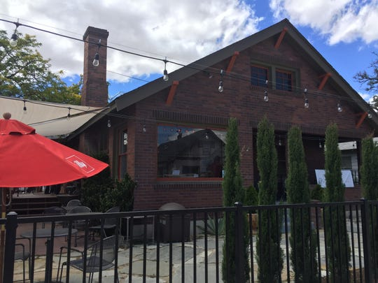 Calafuria occupies a renovated bungalow on South Center Street in Midtown Reno. There is al fresco dining on the porch or terraces.