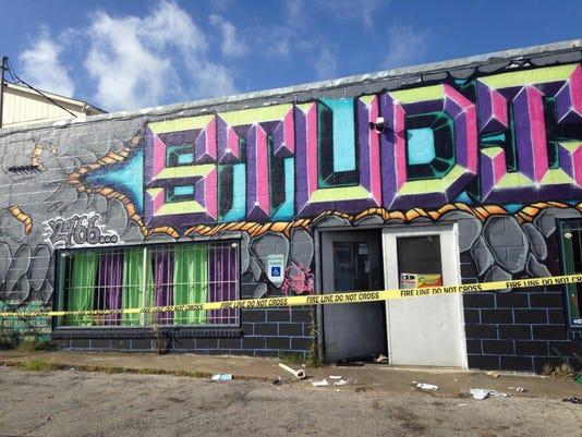 Dance Studio Shooting-Texas