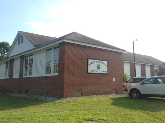 The Browns Ruritan building is a former school on McLeary Road in northeast Madison County.