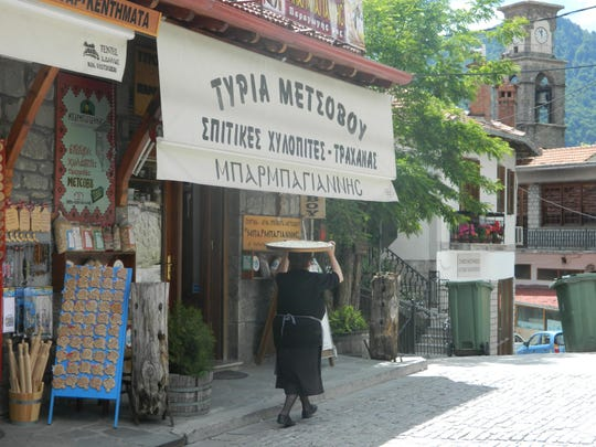 An Albanian woman recalls another ere in these modern-day times.