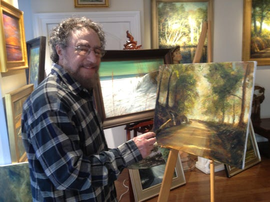 Dean Gioia, nationally known painter and fine artist, is having an open house Sunday.