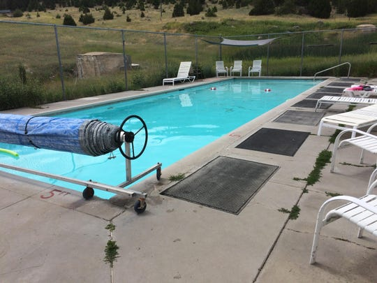 This is the pool as it is today at the Peace Valley Hot Springs, also known as the Boulder Hot Springs Inn, Spa and Retreat Center.