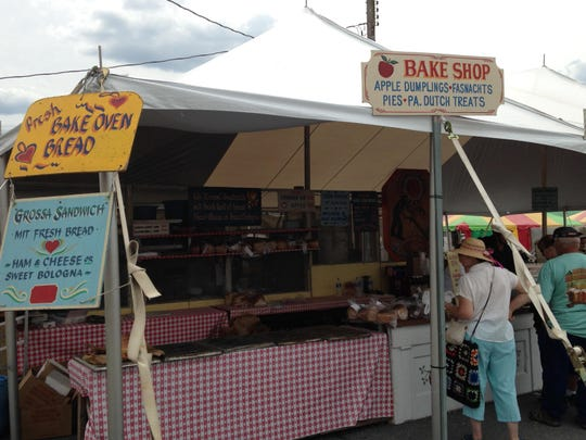 Kutztown Folk Festival featured a variety of food options, many of them based in the Pennsylvania Dutch culture.