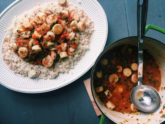 Food Deadline Shrimp Casserole