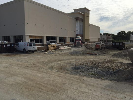 The nine-seat AMC Theater in Anderson Township while under construction.