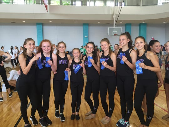 Plymouth-Canton Educational Park's JV dance team excelled