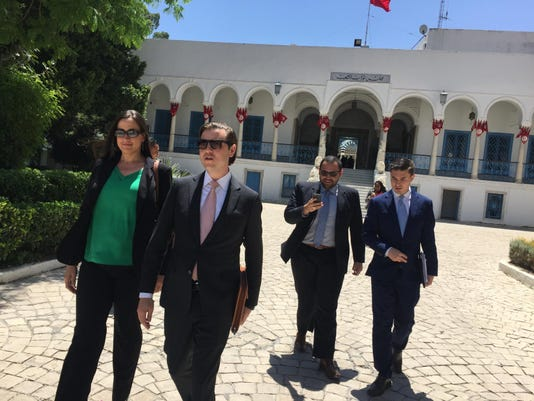 Pic #4 Delegation at Tunisian Parliament