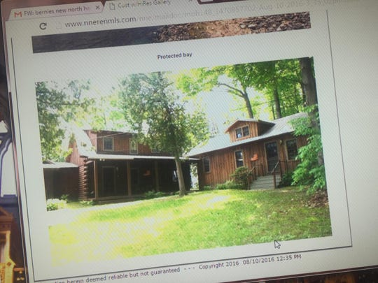 Photos of the house purchased by Sen. Bernie Sanders and his wife, Jane, in North Hero.