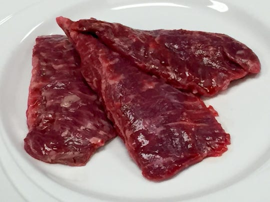 Cows yield two pieces of the bonanza cut; each weighs about 1/4 pound on average.
