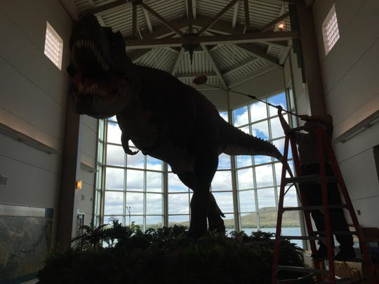 Fort Peck t.Rex guest dusted